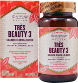 Buy Tres Beauty 3 90Caps ReserveAge Nutrition Online, UK Delivery, Vitamins For Women Hair Nails Skin Women's Supplements