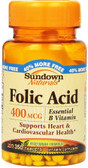 Buy Folic Acid 400 mcg 350 Tabs Rexall Sundown Naturals Online, UK Delivery, Folic Acid Prenatal Vitamin Pregnancy