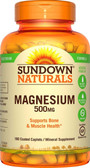 Buy Magnesium 500mg 180 Caplets Rexall Sundown Naturals Online, UK Delivery, Mineral Supplements