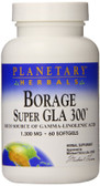 Borage Super GLA 300 1300 mg 60 Softgels, Planetary Herbals, GLA, UK