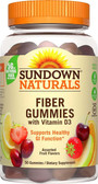 Buy Fiber Gummies with Vitamin D3 Gluten-Free 50 Gummies Rexall Sundown Naturals Online, UK Delivery, Fiber