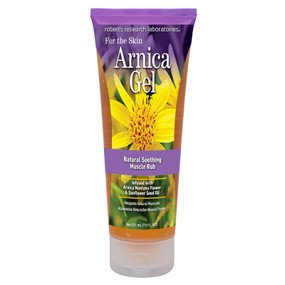 Buy Arnica Gel 7.5 oz (200 ml) Robert Research Labs Online, UK Delivery, Herbal Natural Treatment Remedy
