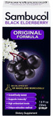 Buy Black Elderberry Original Formula 7.8 oz (230 ml) Sambucol Online, UK Delivery, Cold Flu Remedy Relief Treatment Elderberry Sambucus Immune Support