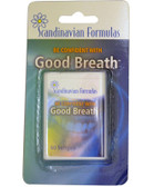 Buy Good Breath 60 sGels Scandinavian Formulas Online, UK Delivery, Oral Care Dental Gum Mints