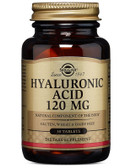 Buy Hyaluronic Acid 120 mg 30 Tabs Solgar Online, UK Delivery, Anti Aging Treatment Supplements Hyaluronic Acid