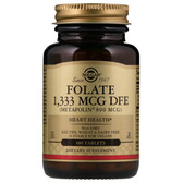 Buy Folate As Metafolin 800 mcg 100 Tabs Solgar Online, UK Delivery, Folic Acid 5-MTHF folate 5 Methyl Tetrahydrofolate Prenatal Vitamin Pregnancy