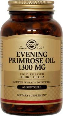 Buy Evening Primrose Oil 1300 mg 60 sGels Solgar Online, UK Delivery, EFA Omega EPA DHA