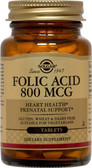 Buy Folic Acid 800 mcg 250 Tabs Solgar Online, UK Delivery, Folic Acid Prenatal Vitamin Pregnancy