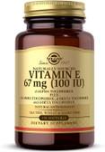 Buy Vitamin E 100 IU 100 sGels Solgar Online, UK Delivery, Gluten Free Vitamin E