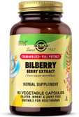 Buy Bilberry Berry Extract 60 Veggie Caps Solgar Online, UK Delivery, Eye Support Supplements Vision Care Bilberry