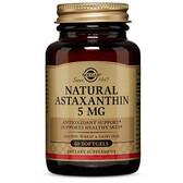 Astaxanthin 5mg 60 Softgels, Solgar, UK Shop