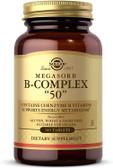 """Megasorb B-Complex """"50"""", 100 Tabs, Solgar"""