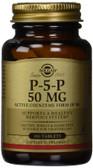 Buy P-5-P 50 mg 100 Tabs Solgar Online, UK Delivery, Gluten Free Vitamin B