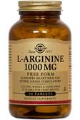 Buy L-Arginine 1000 mg 90 Tabs Solgar Online, UK Delivery, Amino Acid