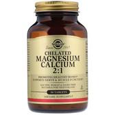 Buy Chelated Magnesium Calcium 2:1 90 Tabs Solgar Online, UK Delivery, Mineral Supplements