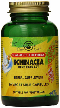Buy Echinacea Herb Extract 60 Veggie Caps Solgar Online, UK Delivery, Natural Immune