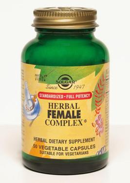 Buy Herbal Female Complex 50 Veggie Caps Solgar Online, UK Delivery, Women's Supplements Vitamins For Women