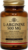 Buy L-Arginine 500 mg 250 Veggie Caps Solgar Online, UK Delivery, Amino Acid