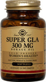 Buy Super GLA Borage Oil Women's Health 300 mg 60 sGels Solgar Online, UK Delivery, EFA Omega EPA DHA