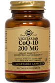 Buy CoQ-10 200 mg 60 Veggie Caps Solgar Online, UK Delivery, Coenzyme Q10