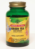 Buy Green Tea Leaf Extract 60 Veggie Caps Solgar Online, UK Delivery, Antioxidant