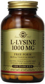 Buy L-Lysine 1000 mg 100 Tabs Solgar Online, UK Delivery, Amino Acid