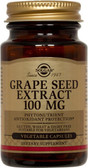 Buy Grape Seed Extract 100 mg 60 Veggie Caps Solgar Online, UK Delivery, Antioxidant