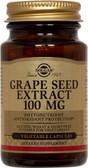 Buy Grape Seed Extract 100 mg 60 Veggie Caps Solgar Online, UK Delivery, Antioxidant