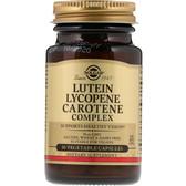 Lutein Lycopene Carotene Complex 30 Caps, Solgar, UK Shop