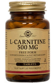 Buy L-Carnitine 500 mg 60 Tabs Solgar Online, UK Delivery, Amino Acid