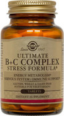 Buy Ultimate B+C Complex 90 Tabs Solgar Online, UK Delivery, Stress Relief Remedy Formulas Anti Stress Treatment