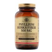 Buy Psyllium Husks Fiber 500 mg 200 Veggie Caps Solgar Online, UK Delivery