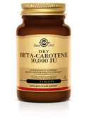 Buy Dry Beta Carotene 10 000 IU 250 Tabs Solgar Online, UK Delivery, Antioxidant Vitamin A Beta Carotene