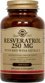 Buy Resveratrol 250 mg 60 sGels Solgar Online, UK Delivery,