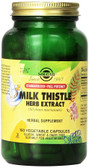 Buy Milk Thistle Herb Extract 150 Veggie Caps Solgar Online, UK Delivery, Milk Thistle Silymarin Liver Cleanse Detox Cleansing