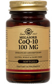 Buy CoQ-10 Megasorb 100 mg 90 sGels Solgar Online, UK Delivery, Coenzyme Q10