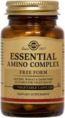 Buy Essential Amino Complex 90 Veggie Caps Solgar Online, UK Delivery, Amino Acid