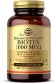 Buy Biotin 1000 mcg 250 Caps Solgar Online, UK Delivery, Gluten Free Vitamin B Biotin