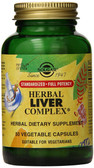 Herbal Liver Complex 50 Veggie Caps, UK Store