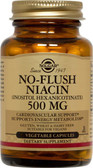 Buy No-Flush Niacin 500 mg 250 Veggie Caps Solgar Online, UK Delivery