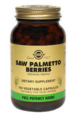 Buy Saw Palmetto Berries 100 Veggie Caps Solgar Online, UK Delivery, Men's Supplements For Men Saw Palmetto Prostate Health Formulas