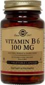 Buy Vitamin B6 100 mg 250 Veggie Caps Solgar Online, UK Delivery, Vitamin B