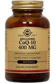 Buy CoQ-10 (Coenzyme Q-10) 400 mg 60 sGels Solgar Online, UK Delivery, Coenzyme Q10