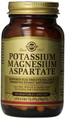 Buy Potassium Magnesium Aspartate 90 Veggie Caps Solgar Online, UK Delivery