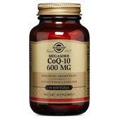 CoQ-10 (Coenzyme Q-10) 600 mg 30 Softgels Solgar, UK Store