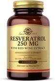 Buy Resveratrol 250 mg 30 sGels Solgar Online, UK Delivery,