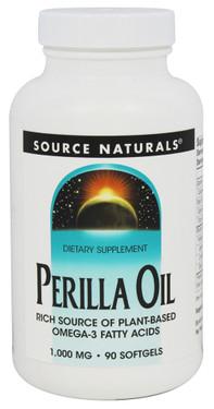 Buy Perilla Oil 1000 mg 90 sGels Source Naturals Online, UK Delivery, EFA Omega EPA DHA