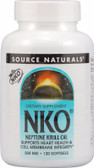 Buy NKO (Neptune Krill Oil) 500 mg 120 sGels Source Naturals Online, UK Delivery