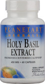 Holy Basil Extract 450 mg 60 Caps, Planetary,Centered Calmness