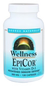 Buy EpiCor with Vitamin D-3 500 mg 120 Caps Source Naturals Online, UK Delivery, Cold Flu Remedy Relief EpiCor Immune Support